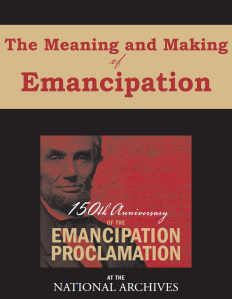 The Meaning and Making of Emancipation eBook cover