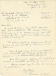 Letter from Lawrence A Hill to Hon Harold Ickes