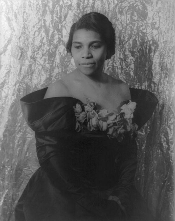 Marian Anderson, photographed by Carl Van Vechten