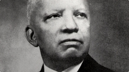 Carter G. Woodson (1875-1950) historian, author, and founder of ASALH Image: Public Domain