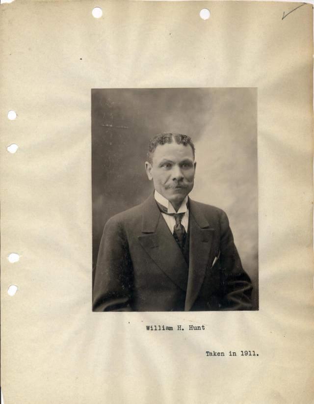 William H. Hunt, 1911