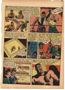 "True Comics #5, ""The Brown Bomber"" [copyright: Parents' Magazine Press, October 1941]"" p.2"