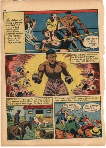 "True Comics #5, ""The Brown Bomber"" [copyright: Parents' Magazine Press, October 1941]"" p. 3"