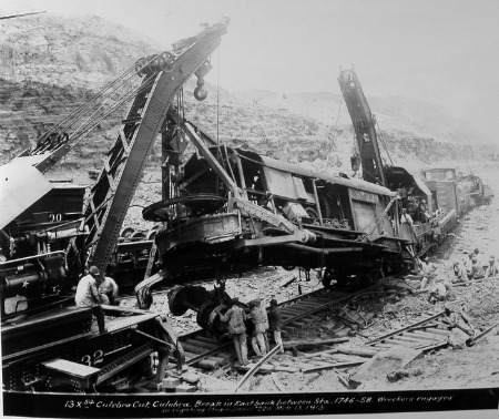 From the series Photographs of the Construction of the Panama Canal (NAID 535444), photo number 185-G-131