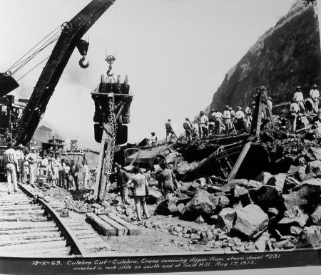 From the series Photographs of the Construction of the Panama Canal (NAID 535444), photo number 185-G-136