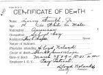 Leroy Smith, from series Death Certificate Cards (NAID 7408557)
