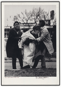 Photograph of Amelia Boyton, Beaten on Bloody Sunday (NAID 16899082)