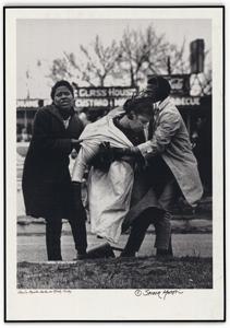 Photograph of Amelia Boyton, Beaten on Bloody Sunday (NAID 16899082)