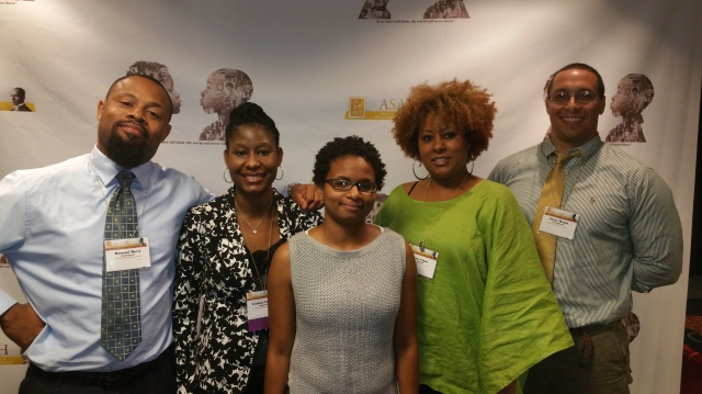 NARA panelists: Damani Davis, Trichita Chestnut, Netisha Currie, Tina Ligon, and Shane Walsh