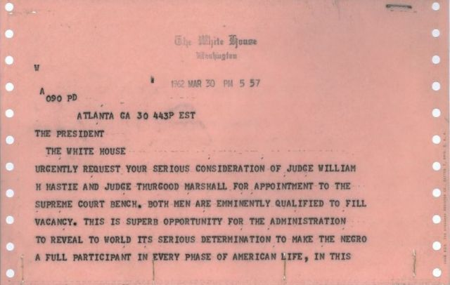 Telegram from Martin Luther King, Jr. [JFKWHCNF-1736-004-p0014]