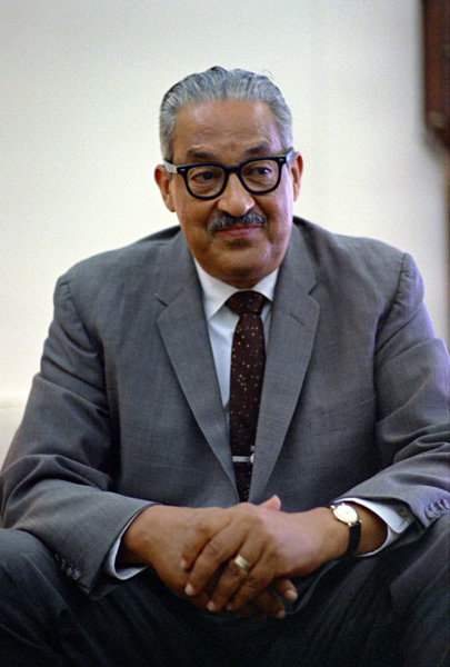 Photograph of Thurgood Marshall (NAID 2803441)