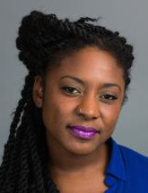 Panelist Alicia Garza, co-creator of Black Lives Matter and Special Projects Director for the National Domestic Workers Alliance
