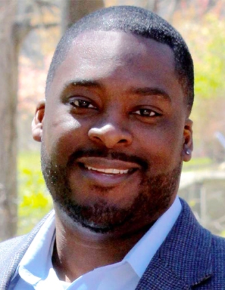"""Panelist Dr. Jakobi Williams, associate professor of history at Indiana University Bloomington and author of """"From the Bullet to the Ballot: The Illinois Chapter of the Black Panther Party and Racial Coalition Politics in Chicago"""""""