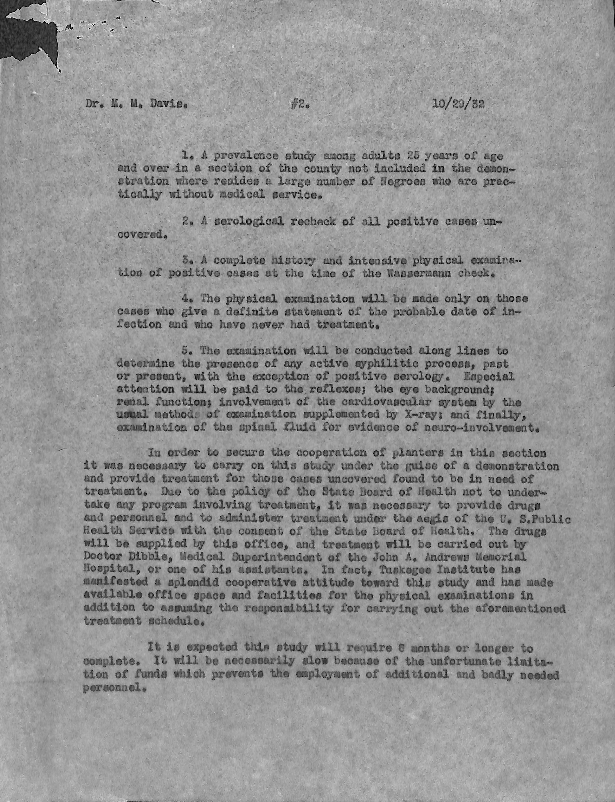 tuskegee experiment research paper Tuskegee experiment from 1932–1972, the us public health syphilis study   paper original images provided by the tuskegee university legacy museum,.