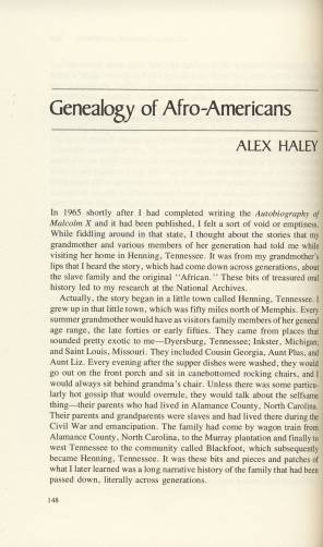 Alex+Haley+Presentation+-+first+page+from+Clarke+book