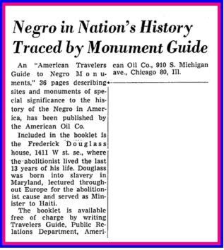 American+Traveler's+Guide+to+Negro+Monuments+-+Washington+Post,+June+16,+1963