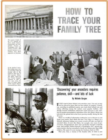 How+to+Trace+Your+Family+Tree+-+Ebony,+June+1977,+page+1