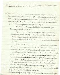 Letter from Esther Haith to Secretary of State Robert Lansing, 11/18/1918 p2