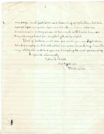 Letter from Esther Haith to Secretary of State Robert Lansing, 11/18/1918 p3